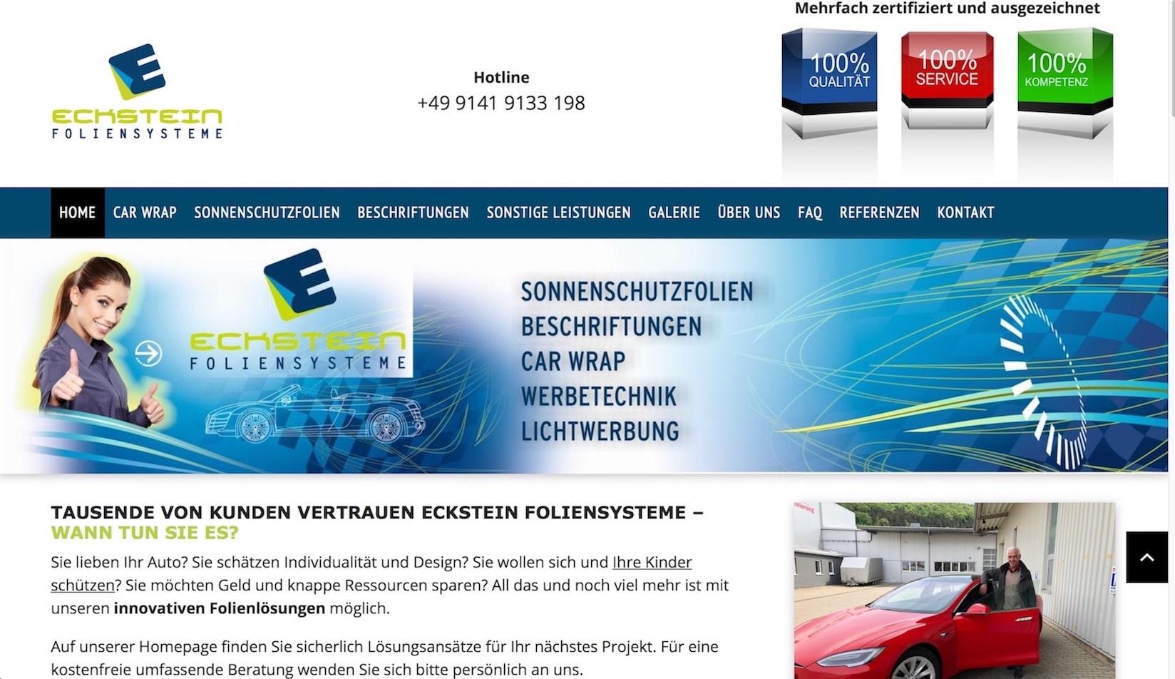 Eckstein screenshot